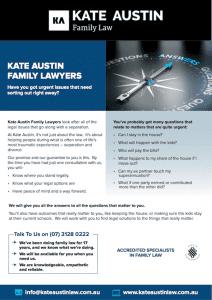kate austin family law