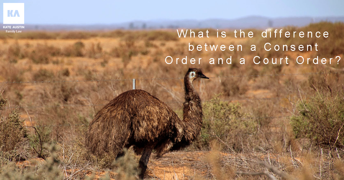 What is the difference between a Consent Order and a Court Order
